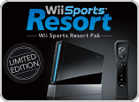 Nintendo Wii Sports Resort Pak Black Limited Edition