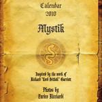 Il Calendario 2010 Mystik. Le foto del lavoro di Enrico Ricciardi 1