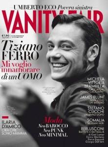 Tiziano Ferro sulla copertina di Vanity Fair