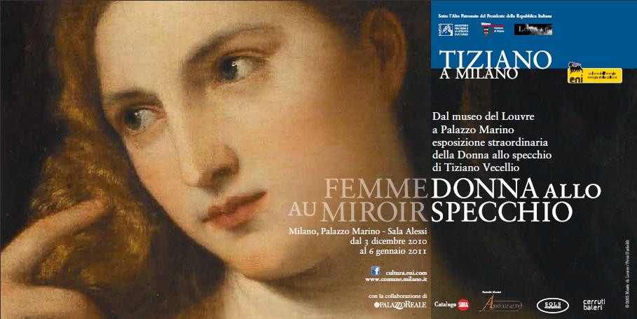 Tiziano a Milano - Donna Allo Specchio