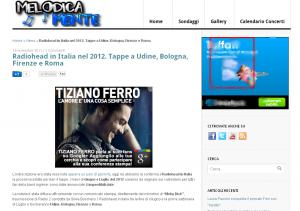 La pubblicità AdWords di Tiziano Ferro su Google+