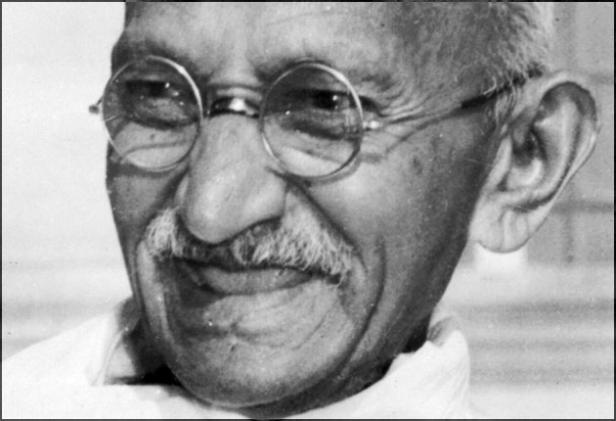 Mohandas Karamchand Gandhi, detto il Mahatma
