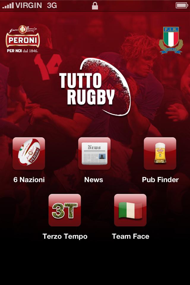 TuttoRugby:l'app per i fan del 6 Nazioni 2