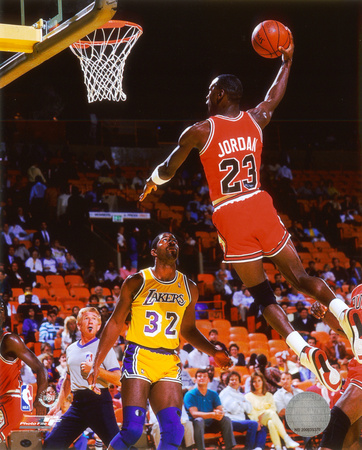 Michael Jordan - Magic Johnson