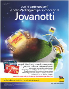 Jovanotti Backup Tour - you&eni