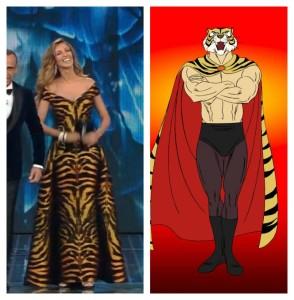 Madalania Ghenea è l'Uomo Tigre al Festival di Sanremo 2016