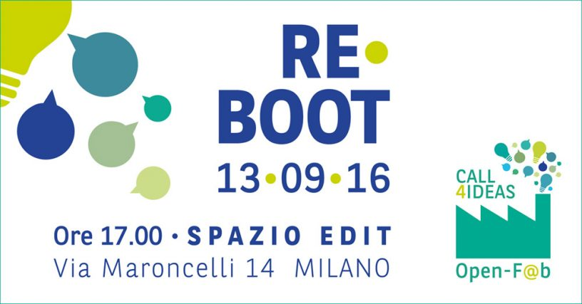 Re-Boot Open-F@b Call4ideas2016
